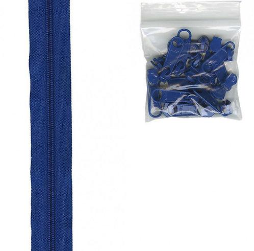 215 - Blastoff Blue Handbag Zipper