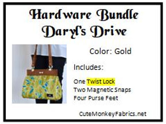 Daryl's Drive with Twist Lock Hardware Bundle
