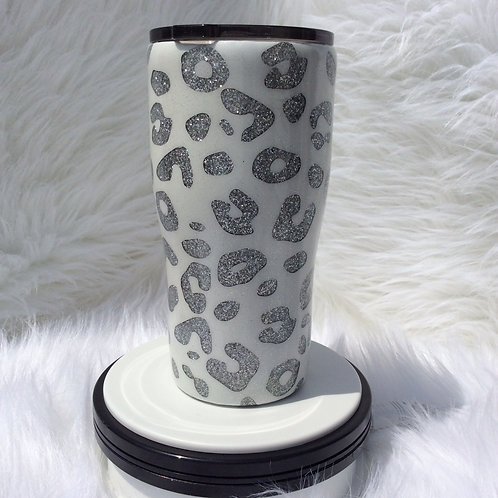 Snow Leopard Thermal Tumbler