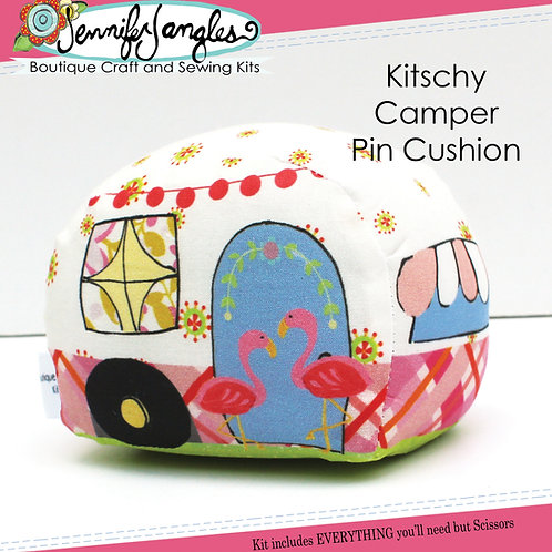 Kitschy Camper Pin Cushion