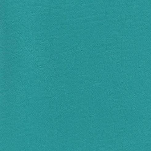Vegan Leather Fabric - Aqua