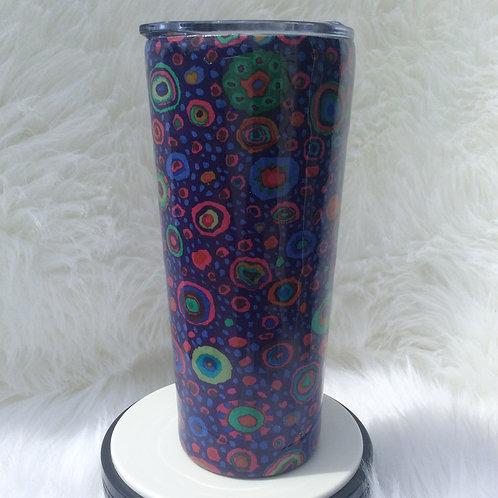 Kaffe Purple Roman Glass Thermal Tumbler