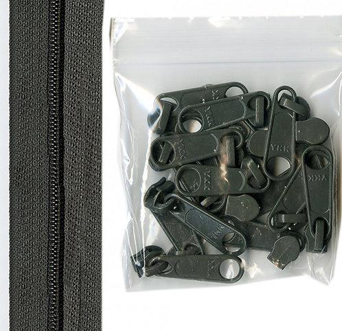 120 - Slate Handbag Zipper