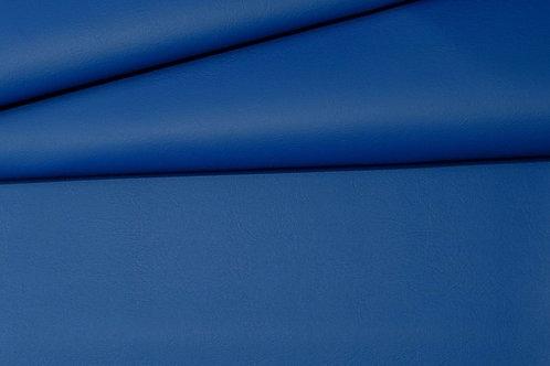 Vegan Leather Fabric - Pacific Blue