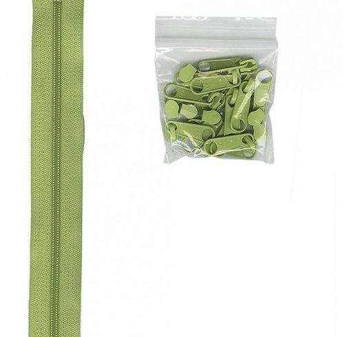 198 - Chartreuse Handbag Zipper