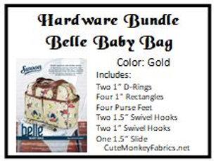 Belle Baby Bag Hardware Bundle