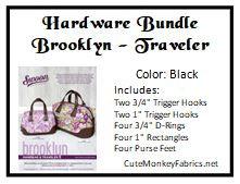 Brooklyn Traveler Hardware Bundle