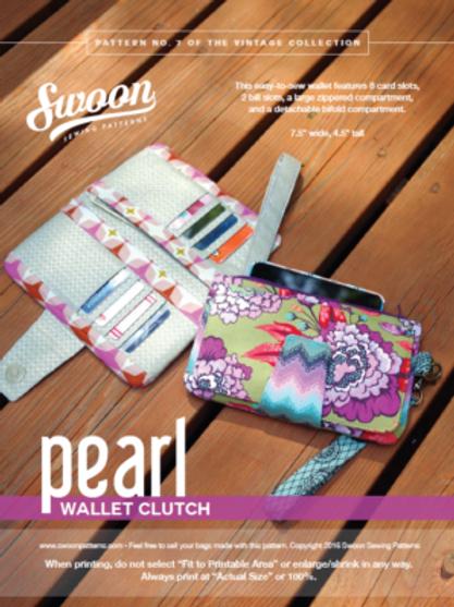 Pearl Wallet Clutch