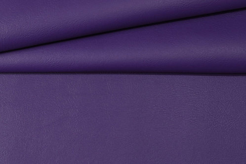 Vegan Leather Fabric - Eggplant