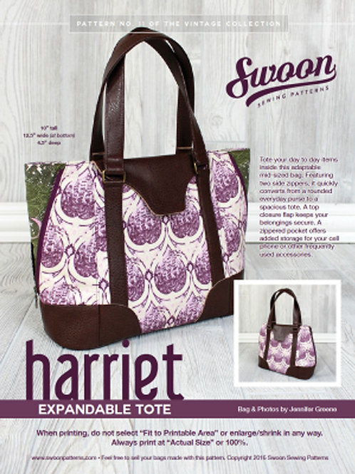 Harriett Expandable Tote