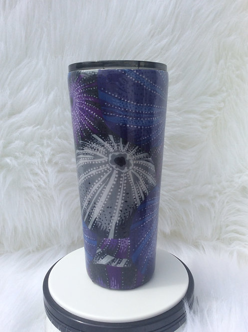 Jacobs for Kaffe Grey Sea Urchins Thermal Tumbler