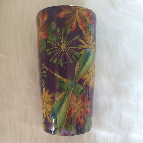 20oz Classic Tumbler - Dragonfly Purple