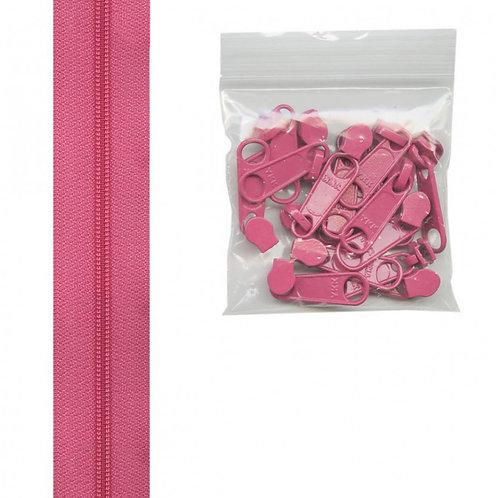 252 - Raspberry Handbag Zipper