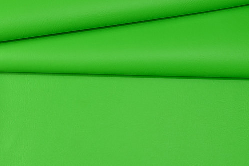 Vegan Leather Fabric - Lime