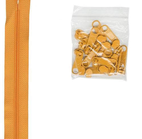 290 - Papaya Handbag Zipper