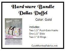 Dallas Duffel Hardware Bundle