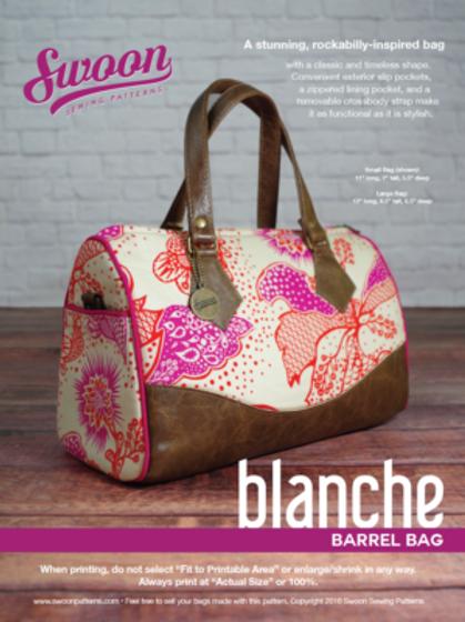 Blanche Barrel Bag