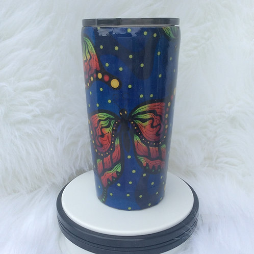 Royal Luna Moth Thermal Tumbler