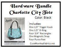 Charlotte City Tote Hardware Bundle