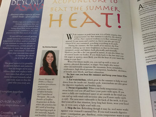 Acupuncture Inspired Suggestions to Beat the Summer HEAT!