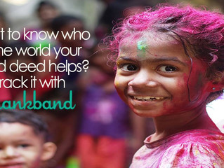 Thankband: Track Acts of Kindness Around the World - SO COOL!