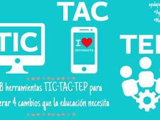 TIC, TAC, TEP: herramientas para cambiar tu clase