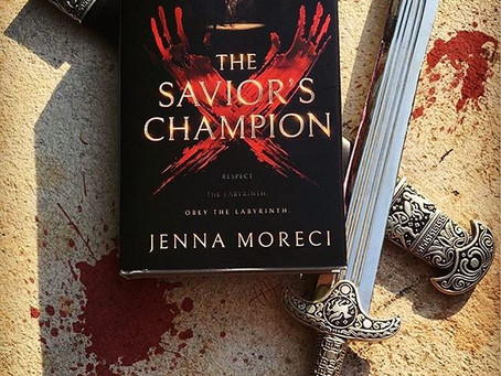 The Savior's Champion by Jenna Moreci - BOOK REVIEW