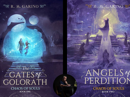 Chaos of Souls (Books 1 & 2) by R.M. Garino - BOOK REVIEWS