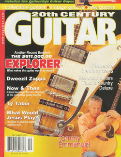 20th Century Guitar cover
