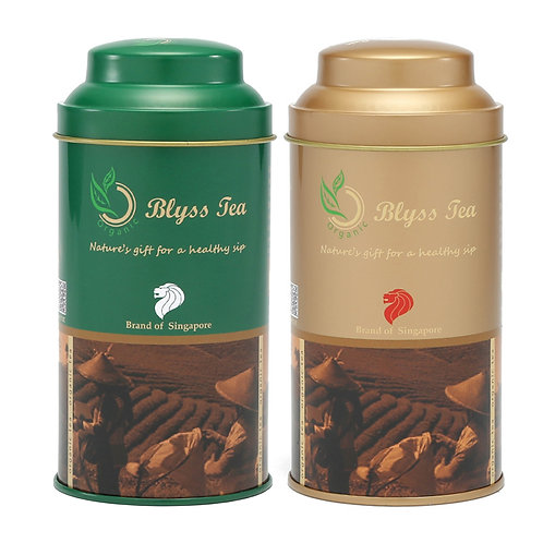 Any 2 types of tea (50g/tin)