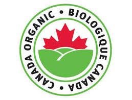 Canadian Organic Tea Certificate