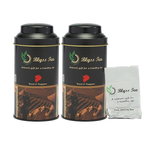 Twin Dark Oolong Tea 50g