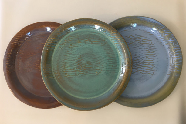 Seagrass Plate Collection