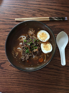 Good Ramen in Tenmouku Bowl