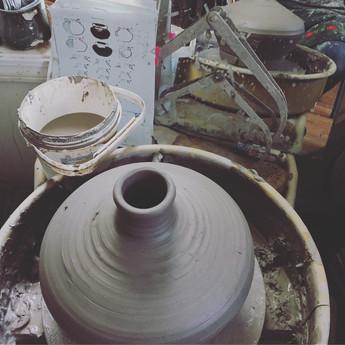 Process Photo for Roman Pottery