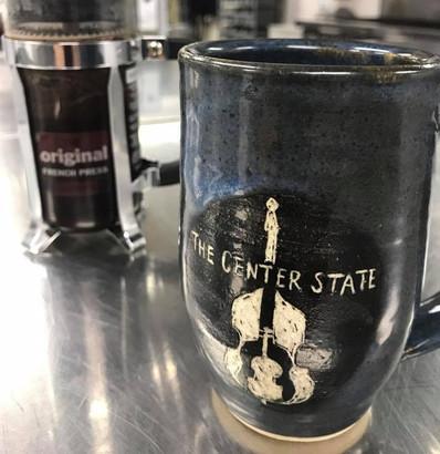 Custom Logo Mugs for The Center State