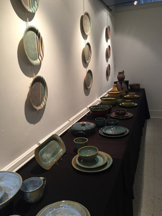 Earth to Table Show at Athens Arts Gallery