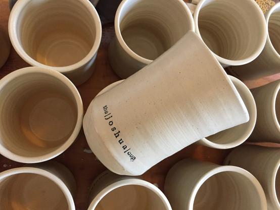 Custom Logo Mugs for the joshua cup