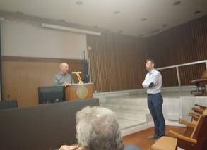 Prof. Victor de lorenzo's presentation at NHRF  9/10/2019
