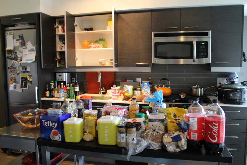 My *Shocking* Processed Food Clean Out