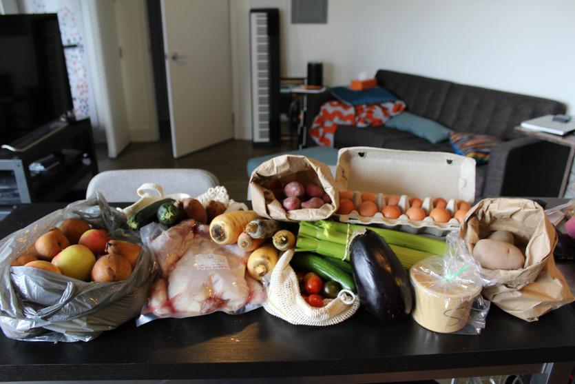 A Week of Clean Eating - Food Journal