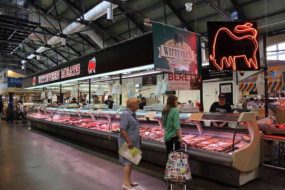 Witteveen's Quality Meats in St Lawrence Market