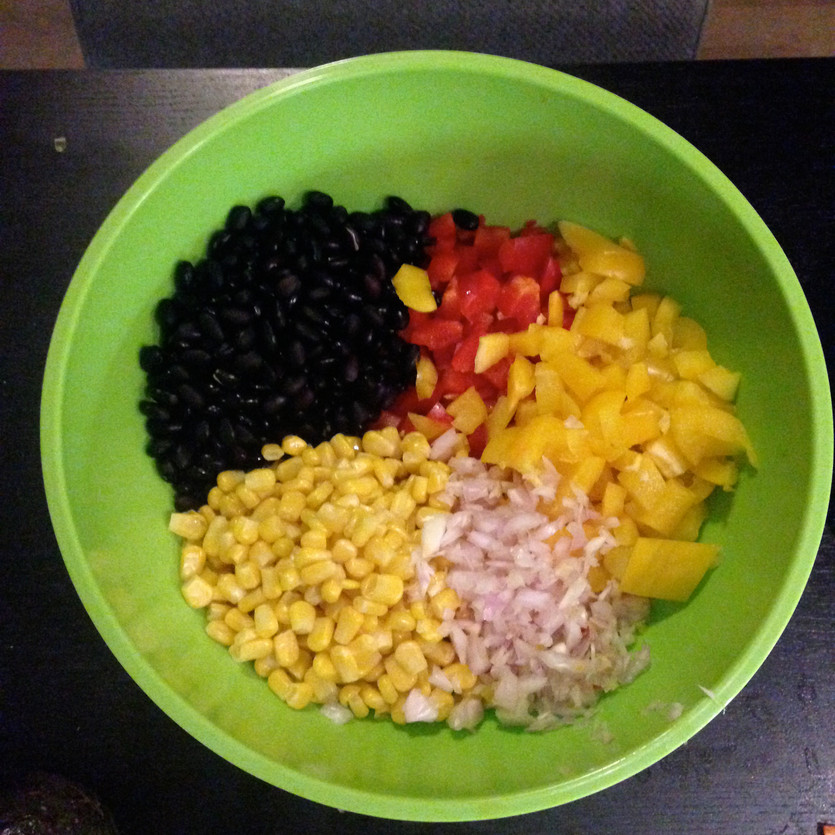 Recipe: Veggie Chop Salad