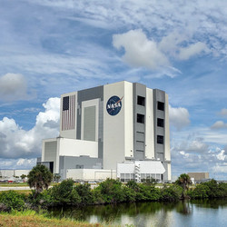 """The infamous Vehicle Assembly Building aka the """"VAB"""""""