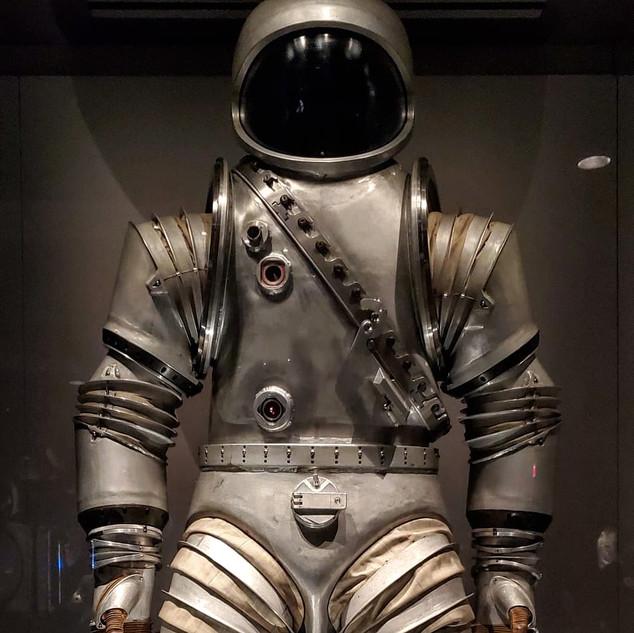 Early spacesuit designs ©RoseDF