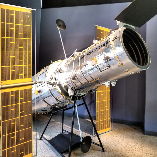 Hubble Space Telescope model