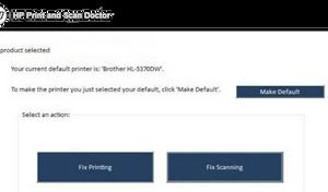 Error Printing