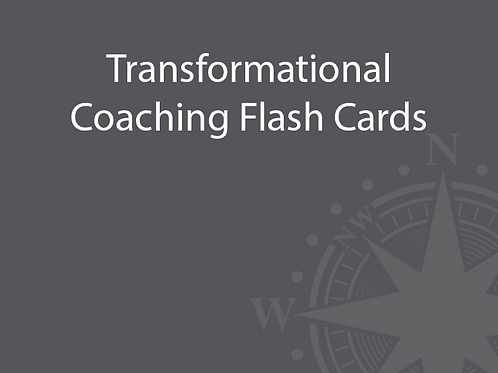 Transformational Coaching Flash Cards
