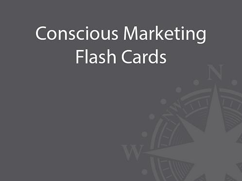 Conscious Marketing Flash Cards