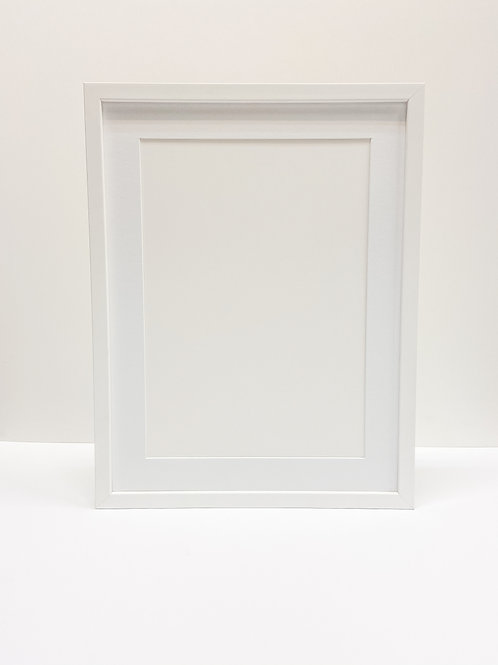 White Ready Made Frame